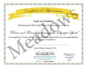 PROJECTS - sochi 2014 - certificate copy