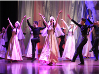 Lebanese boys & girls folk dance